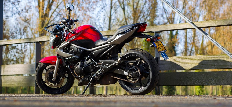 Motor voor Motorrijles voor het Motorrijbewijs Categorie A2