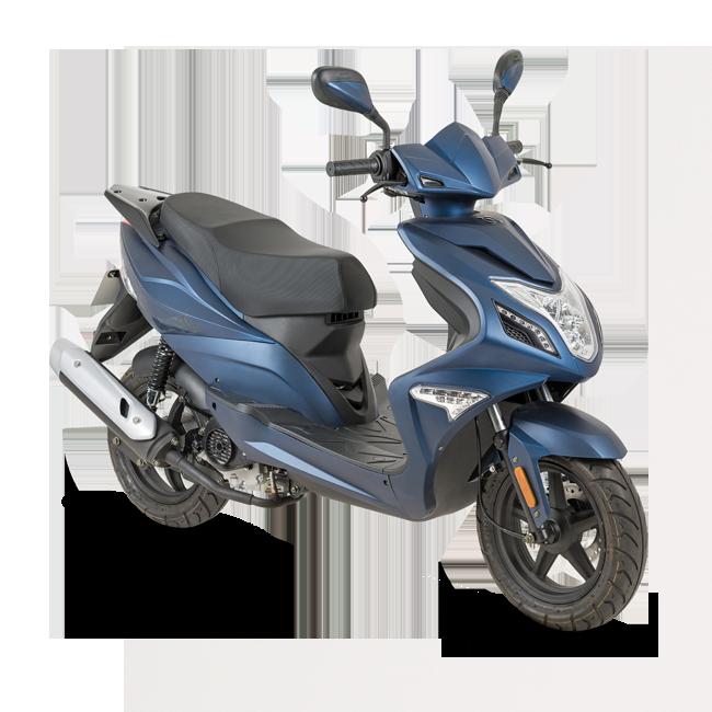 Bromfiets of Scooter om op te rijden nadat je je bromfietsrijbewijs hebt gehaald bij Flevo Motor